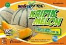 Keripik buah melon
